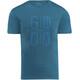 Kaikkialla Taisto Drirelease Kortærmet T-shirt Herrer blå/petroleumsgrøn
